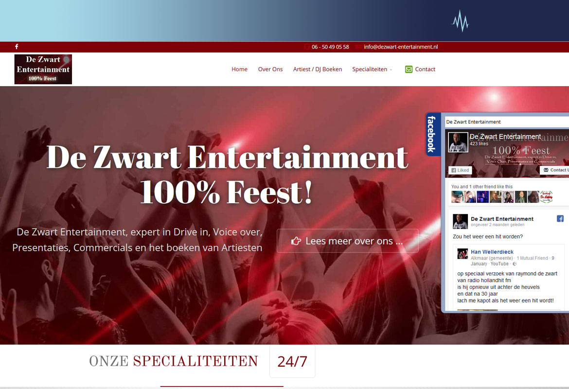 DeZwart-Entertainment.nl